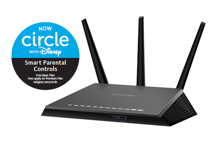 Router WiFi inteligente Nighthawk con MU-MIMO