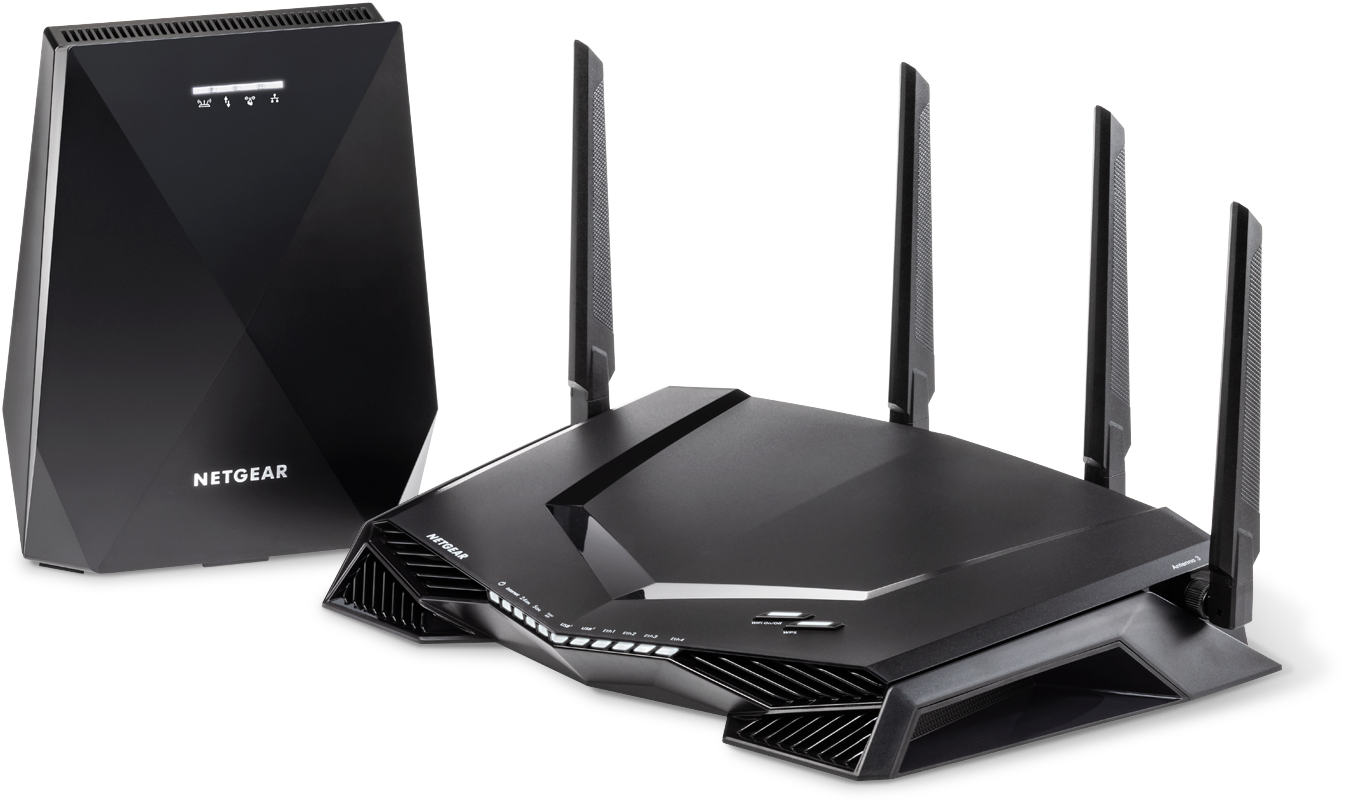 Router y sistema WiFi en malla Nighthawk<sup>®</sup> Pro Gaming