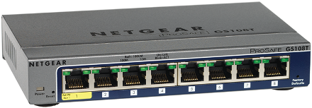NETGEAR GS108Tv2 Switch 64 Bit